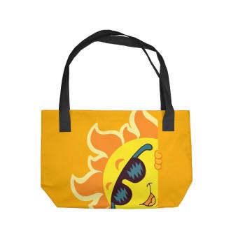 Пляжная сумка Солнце