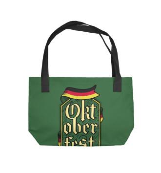 Пляжная сумка Октоберфест