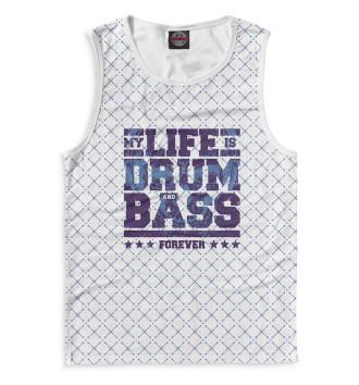Мужская Майка Drum and Bass