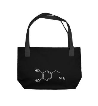 Пляжная сумка Химия Дофамин