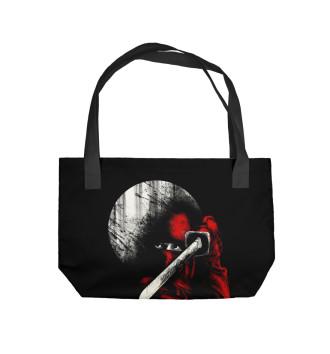 Пляжная сумка Лунный ниндзя