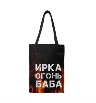 Сумка-шоппер ИРКА ОГОНЬ БАБА