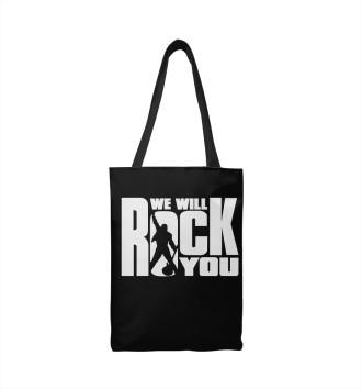 Сумка-шоппер We Will Rock You