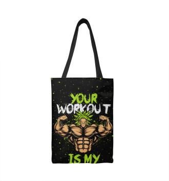 Сумка-шоппер My Workout