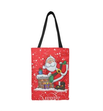 Сумка-шоппер Happy christmas