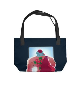 Пляжная сумка Bad Santa