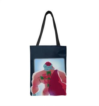 Сумка-шоппер Bad Santa