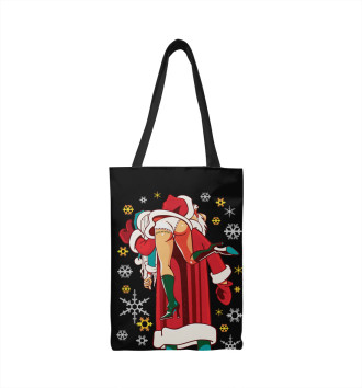 Сумка-шоппер Дед Мороз Brazzers