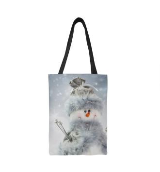 Сумка-шоппер Снеговик