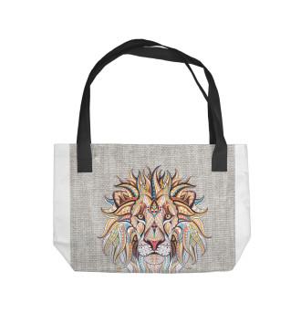 Пляжная сумка Лев