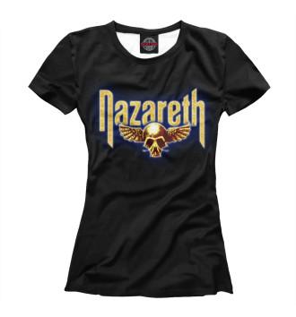 Женская Футболка Nazareth rock band