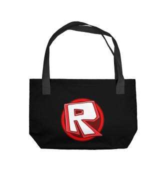 Пляжная сумка Roblox Logo
