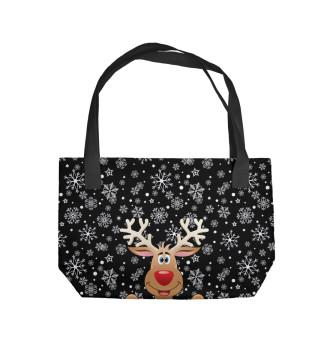 Пляжная сумка С Новым Годом!!!