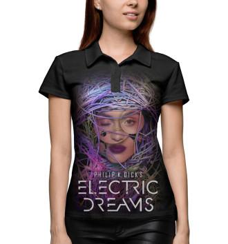 Женское Поло Philip K. Dick's Electric Dreams