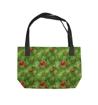Пляжная сумка Новый Год