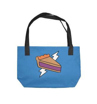 Пляжная сумка Человек Пирог