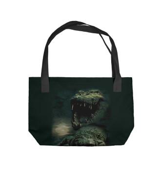 Пляжная сумка Крокодил