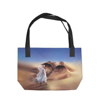 Пляжная сумка Королева и Дракон