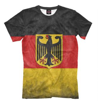 Мужская Футболка Флаг Германии