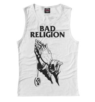 Женская Майка Bad Religion