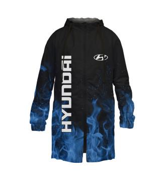 Мужской Дождевик Hyundai blue fire