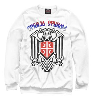 Мужской Свитшот Сербия