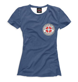 Женская Футболка Клиника Sacred Heart