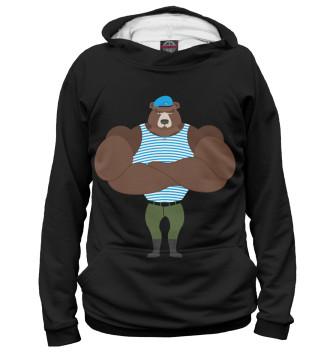 Женское Худи Медведь ВДВ