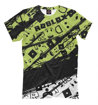Мужская Футболка Roblox
