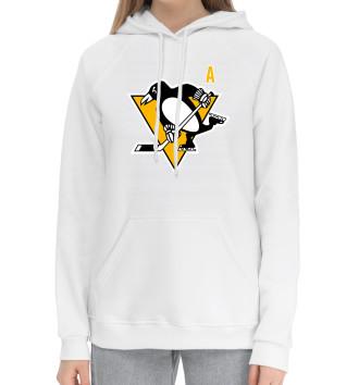 Женский Хлопковый худи Малкин Форма Pittsburgh Penguins 2018