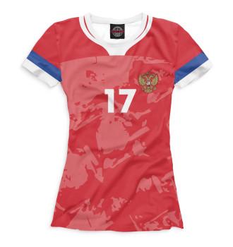 Женская Футболка Golovin 17
