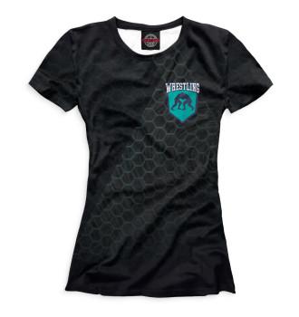 Женская Футболка Греко римская борьба