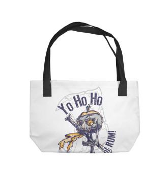 Пляжная сумка Йо-хо-хо и бутылка рома