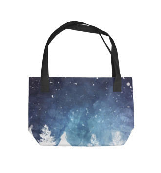 Пляжная сумка Night Forest
