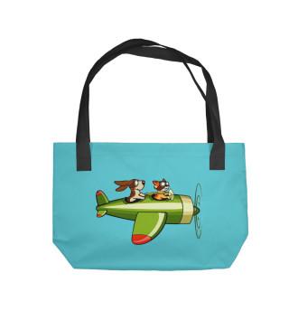 Пляжная сумка Пилот