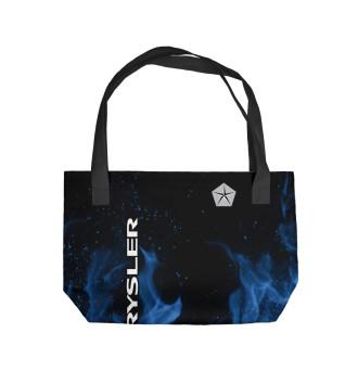 Пляжная сумка Chrysler blue fire