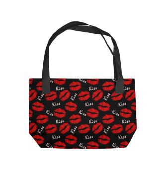 Пляжная сумка Поцелуй