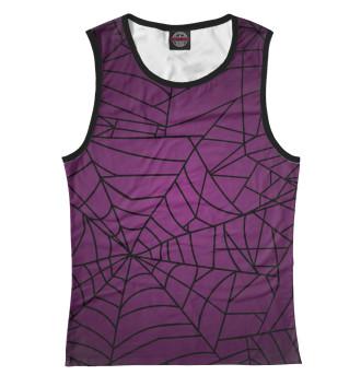 Женская Майка Violet Web