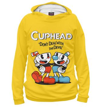Женское Худи Cuphead