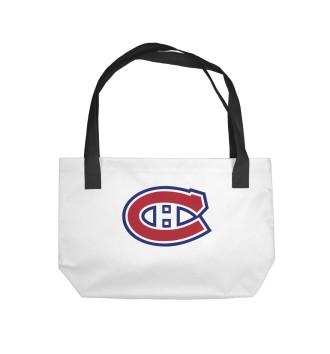 Пляжная сумка Монреаль Канадиенс