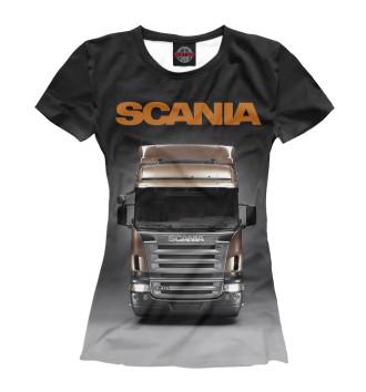 Женская Футболка Scania