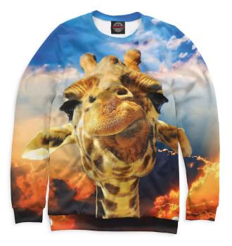 Мужской Свитшот Жираф