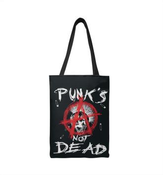Сумка-шоппер Punk's Not Dead