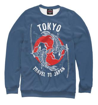 Мужской Свитшот Tokyo. Travel to Japan
