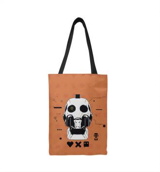 Сумка-шоппер Love, deaths + robots
