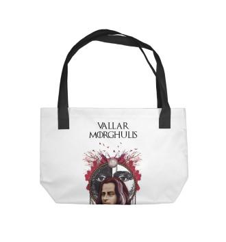 Пляжная сумка Якен Valar Morhulis