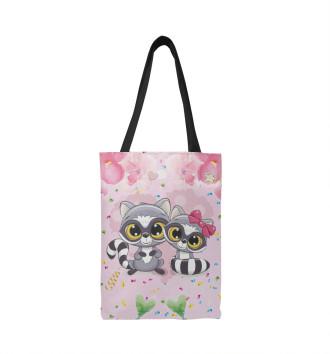 Сумка-шоппер Милые еноты