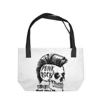 Пляжная сумка Панк рок