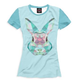 Женская Футболка Bunny