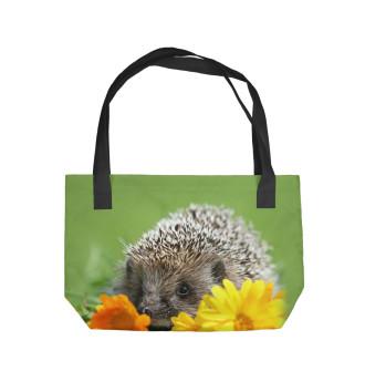 Пляжная сумка Ежик